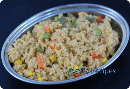 cracked wheat pulav