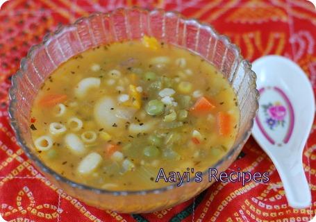 16 bean soup