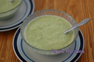 Broccoli – Leek Soup