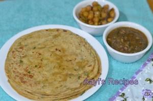 Avocado Paratha / Chapati