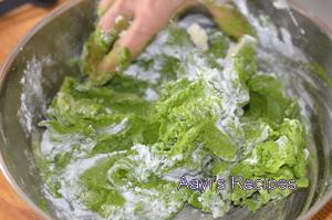 spinach chakli4