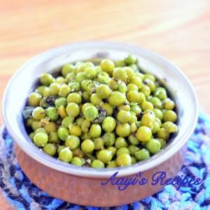 Green Peas Usal (Usli)