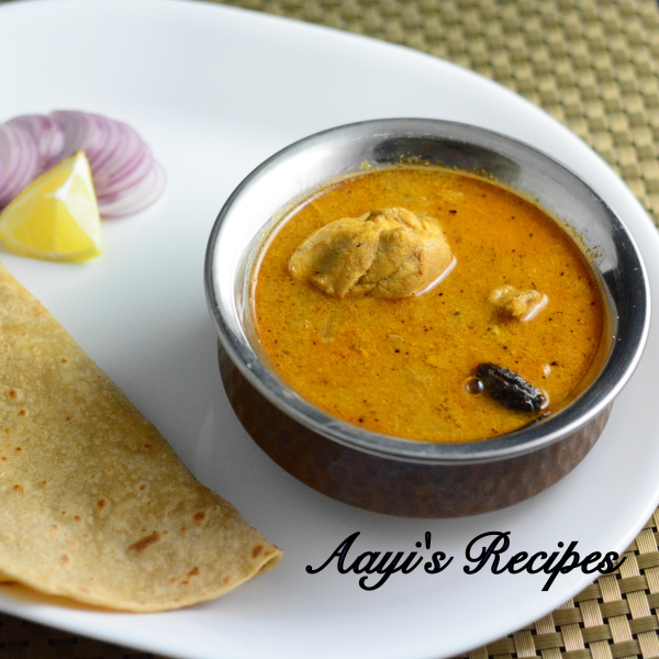 Chicken Curry with Black Cardamom - Aayis Recipes