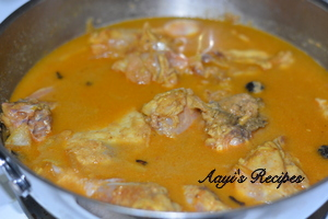 chicken curry with black cardamom6