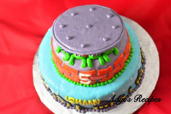 R Clams Healthy ninja turtles cake4 - ...