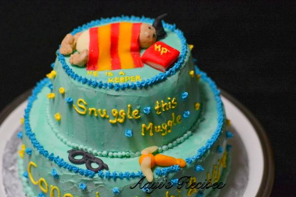 Marvelous Harry Potter Cake4