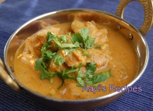 Chicken Gravy With Coconut And Yogurt