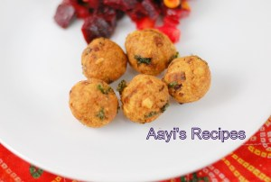 Chickpeas Vadas – Inspired by Falafel