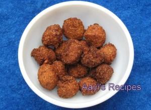 Cashew Fruit Fritters (Kaju Modak / Mulik)
