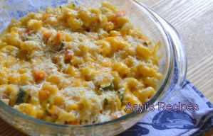 Vegetable Mac and Cheese