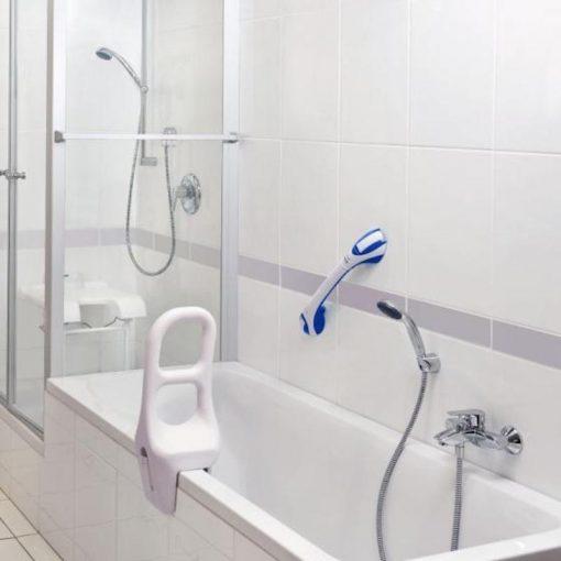 barre pour acces a la baignoire