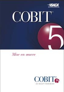 COBIT 5 Mise en Oeuvre