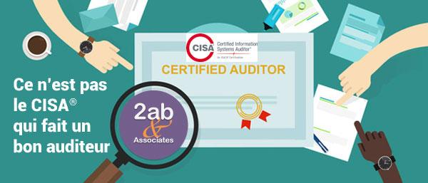 Le CISA ne fait pas un auditeur