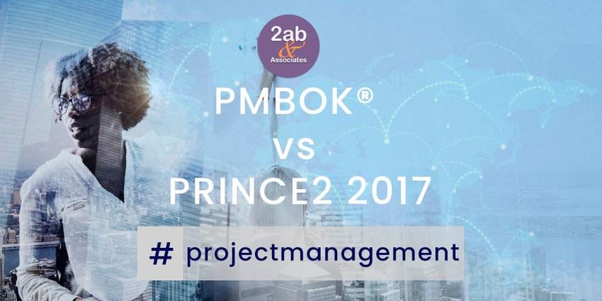 PMBOK vs PRINCE2 2017