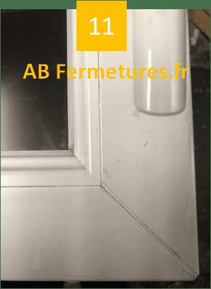 Démonstration réparation menuiserie pvc - Etape 11 - AB Fermetures Le Havre