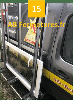 Démonstration réparation menuiserie pvc - Etape 15 - AB Fermetures Le Havre