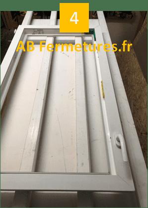 Démonstration réparation menuiserie pvc - Etape 4 - AB Fermetures Le Havre