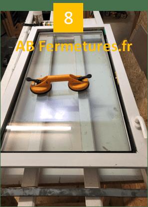 Démonstration réparation menuiserie pvc - Etape 8 - AB Fermetures Le Havre