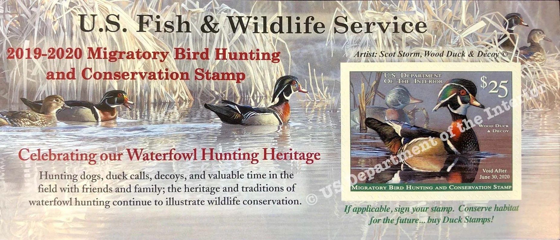 2019-2020 Duck Stamp