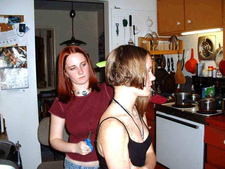Kitchen Haircuts