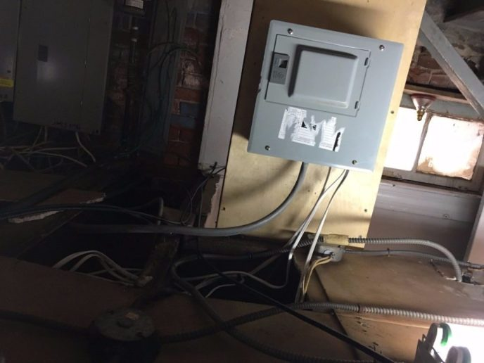 Small Electrical Panel