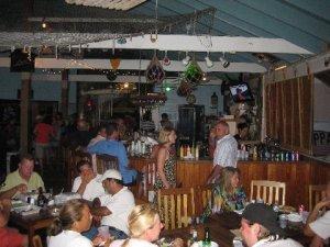 The bar at Snappas