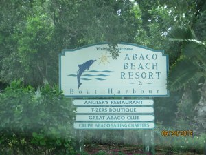 Anglers Restaurant is at the Abaco Beach Resort.