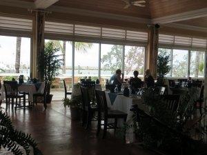 Main dining room at Angler's
