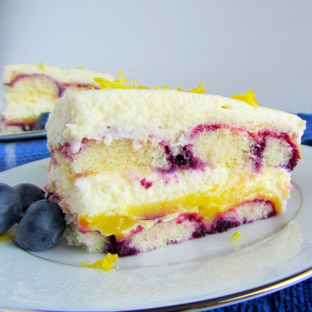 Lemon Blueberry Tiramisu A Bajillian Recipes