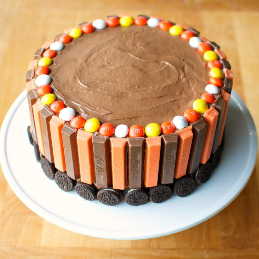 Kit Kat Cake A Bajillian Recipes