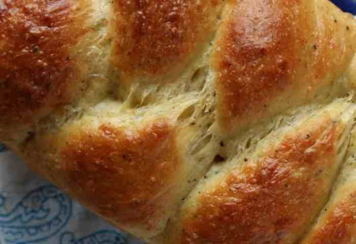 Italian Easter Cheese Bread A Bakers House