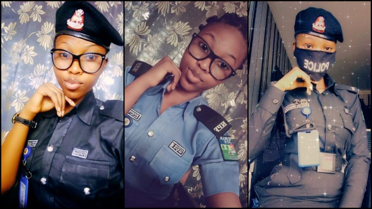 Young Man Begs Beautiful Police Officer