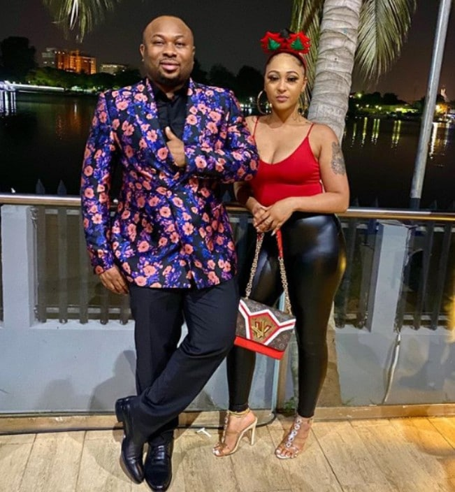 Tonto Dikeh's Ex Churchill Welcomes First Child