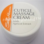 Sally Hansen: Cuticle Massage Cream