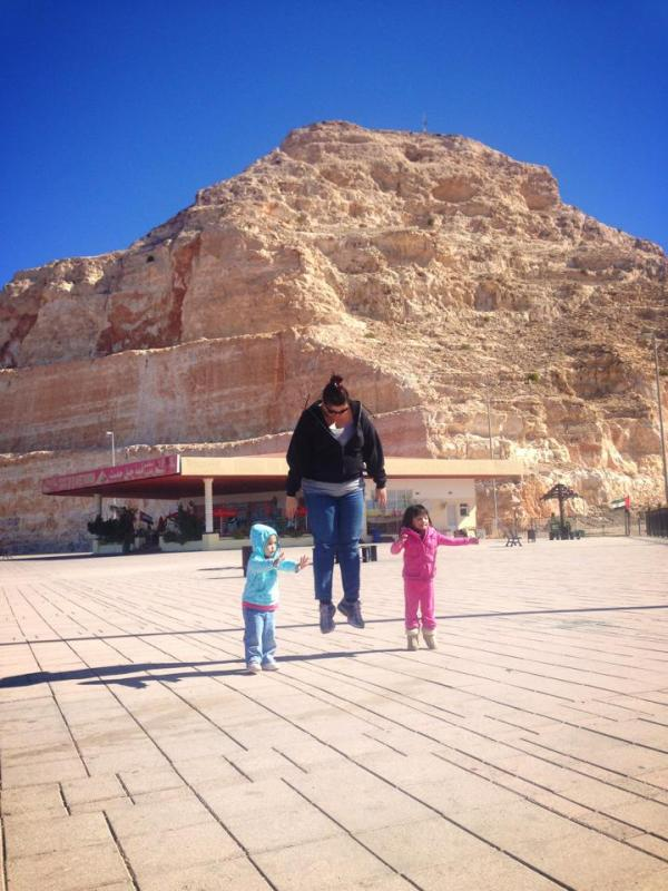 Jebel Hafeet Jump Shot