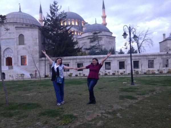 AB&Me Sulamanye Mosque Grace and I