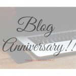 March is my Birthday and Blog Anniversary Month!