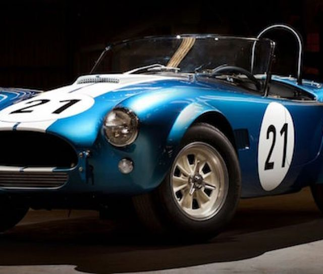 January   Las Vegas Shelby American And Shelby Legendary Cars Will Offer A Limited Number Of Shelby Cobra Daytona Coupes And Fia Roadsters