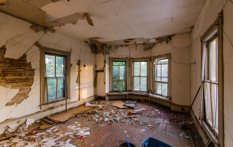 Riddle House | Photo © 2014 Bullet, www.abandonedfl.com