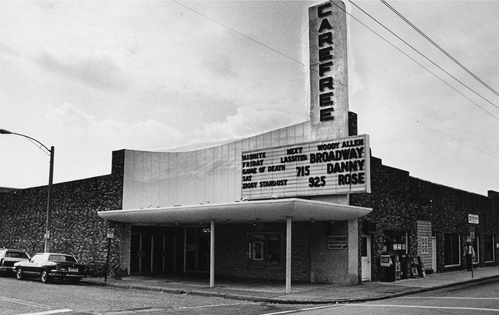 Carfree Theatre - Photo by The Palm Beach Post, 1984