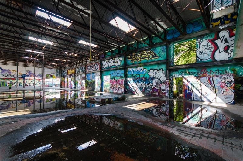North Brothers Ford >> RC Cola Miami Plant   Abandoned Florida