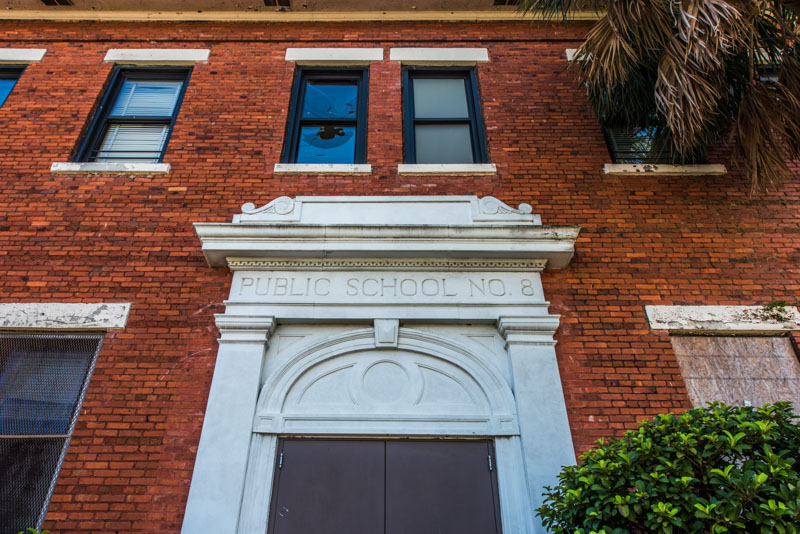 Public School No. 8 | Photo © 2016 Bullet, www.abandonedfl.com