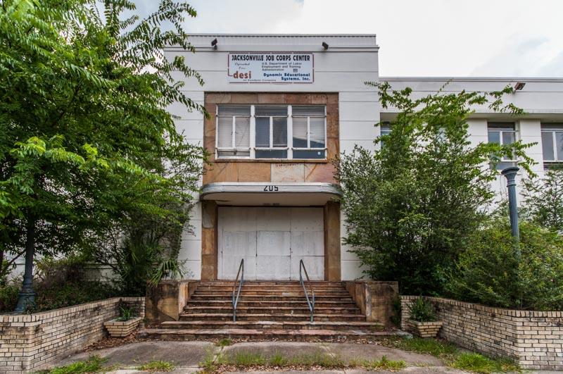 Jacksonville Jewish Center | Photo © 2011 Bullet, www.abandonedfl.com