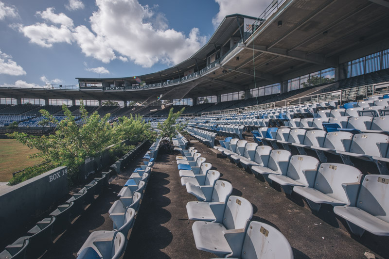 Fort Lauderdale Stadium | Photo © 2018 Bullet, www.abandonedfl.com