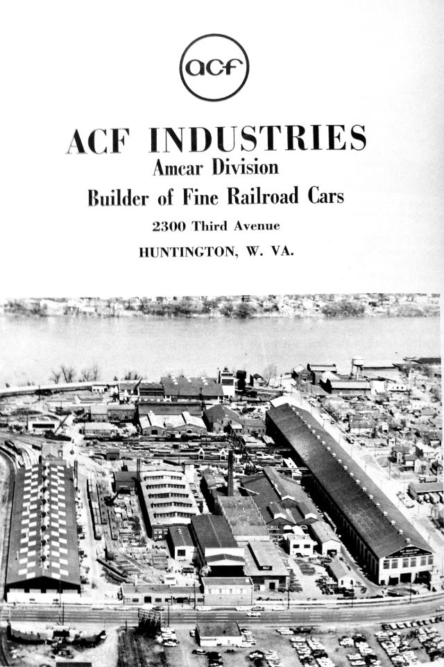 American Car and Foundry Company, Huntington, West Virginia