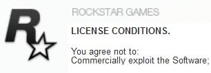 Licencia de uso de Software de Rockstar