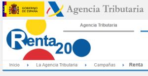 Selección de contenidos de la web de la Agencia Tributaria