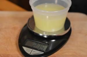 clarifying lime juice