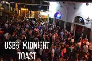 USBG Midnight Toast