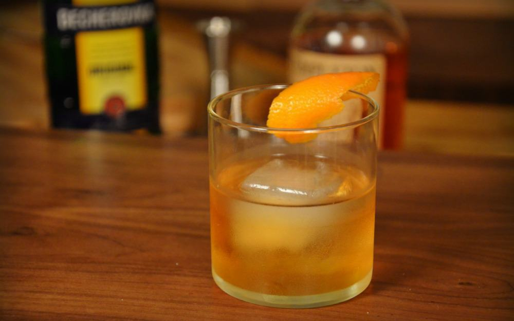 P3 - Becherovka Old Fashioned
